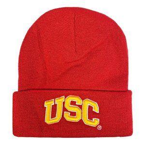 USC Trojans Embroidered Cuffed Knit Cap
